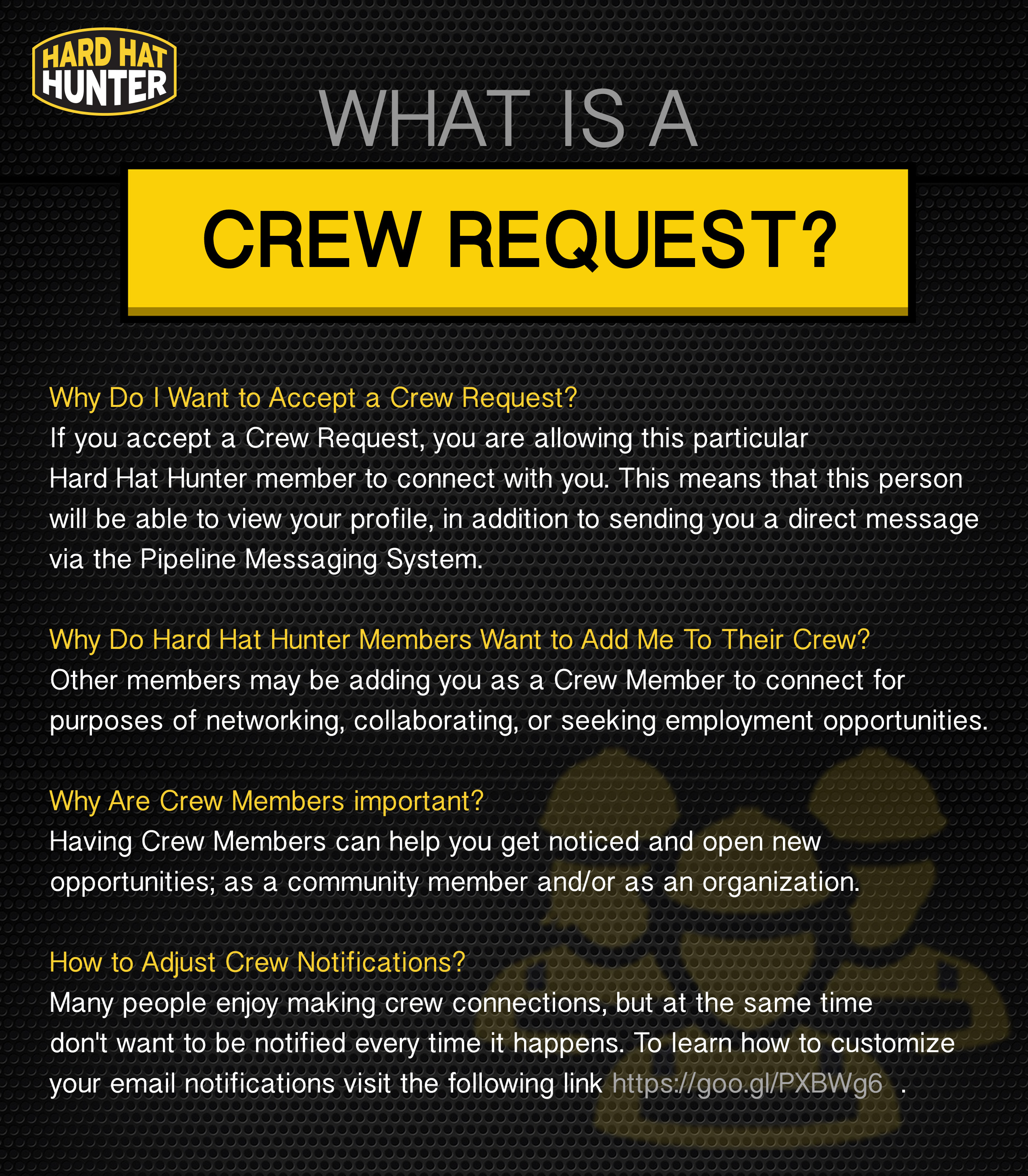crew request